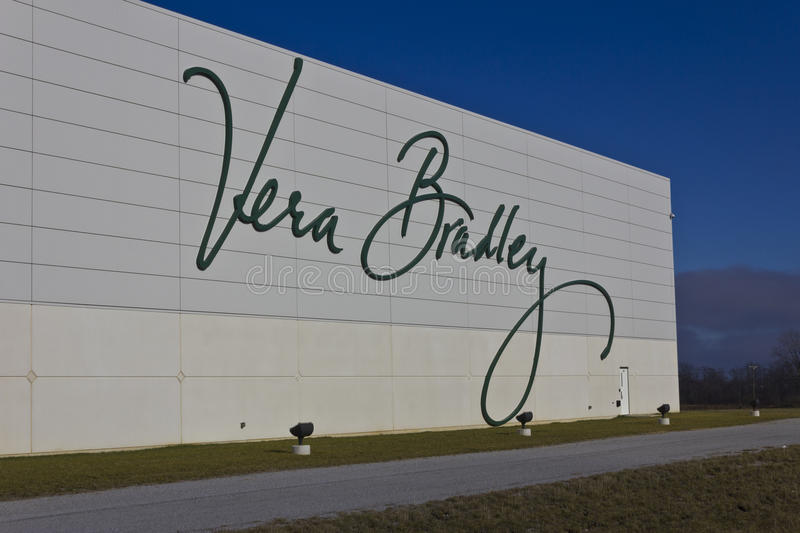 Ft Wayne, IN- circa im Dezember 2015: Vera Bradley World Headquarters stockbild