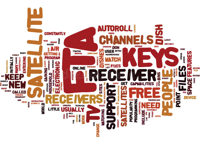 Fta Keys Word Cloud Concept vector illustration