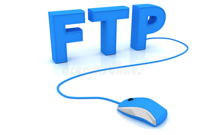 Download FTP stock illustration. Image of internet, mouse, concepts - 18428170