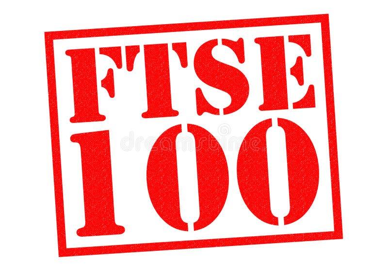 FTSE 100 photographie stock