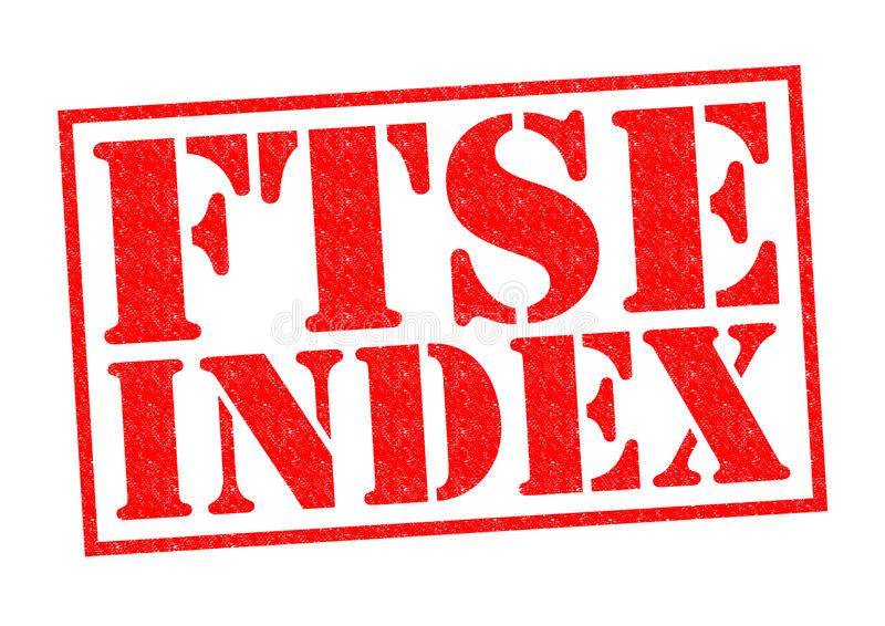 FTSE INDEX royaltyfri illustrationer