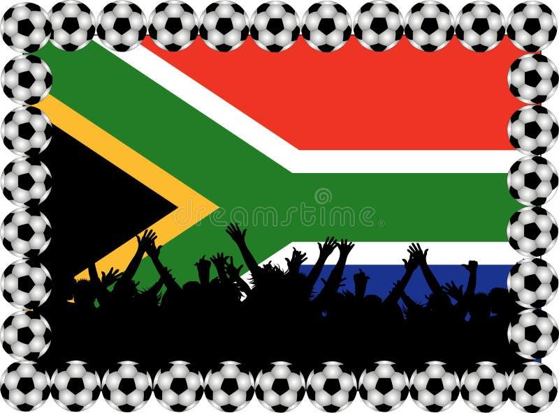 Download Fußbalgebläse Südafrika stock abbildung. Illustration von meisterschaft - 12200440