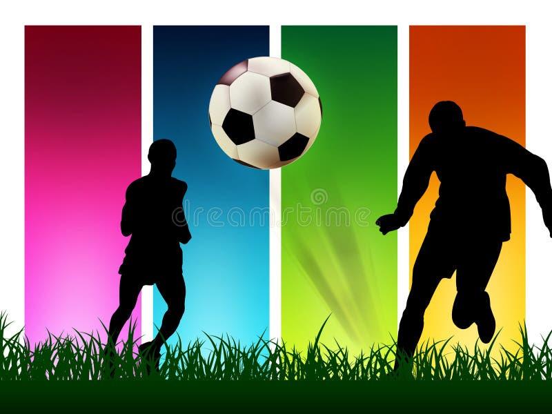Fußball vektor abbildung