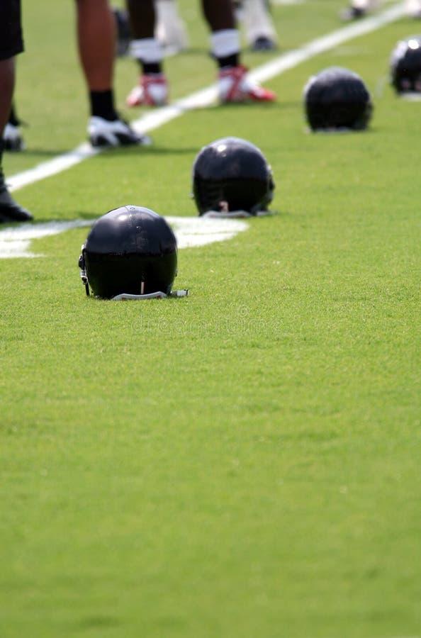 Fußball-Ausbildungslager stockfoto