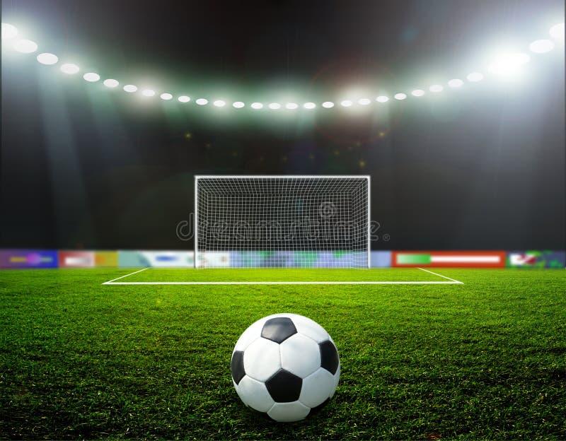Fußball bal.football, stockfotografie