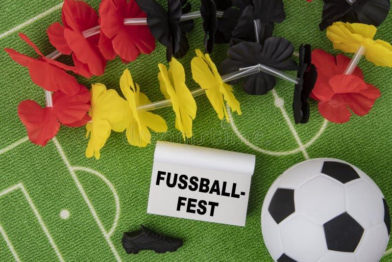 Fußball-Festival stockbilder