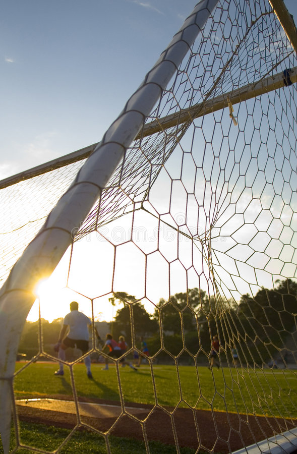 Fußball - Fußball-Praxis - Training stockfoto