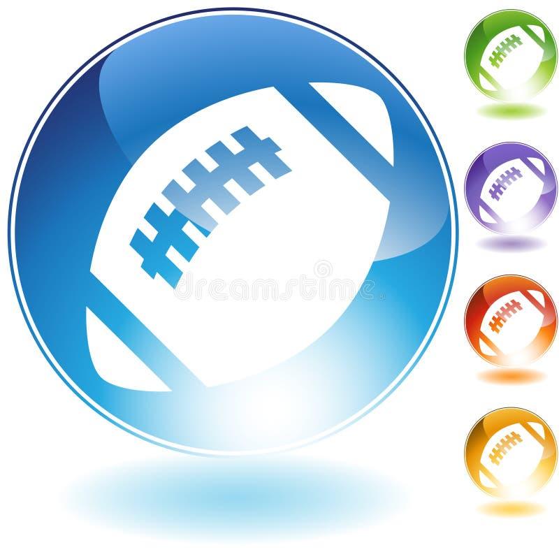 Fußball-Ikone stock abbildung