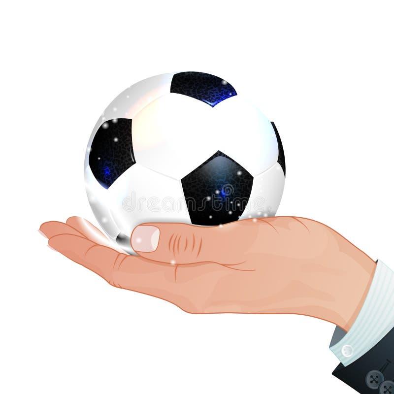 Fußball-Konzept stock abbildung