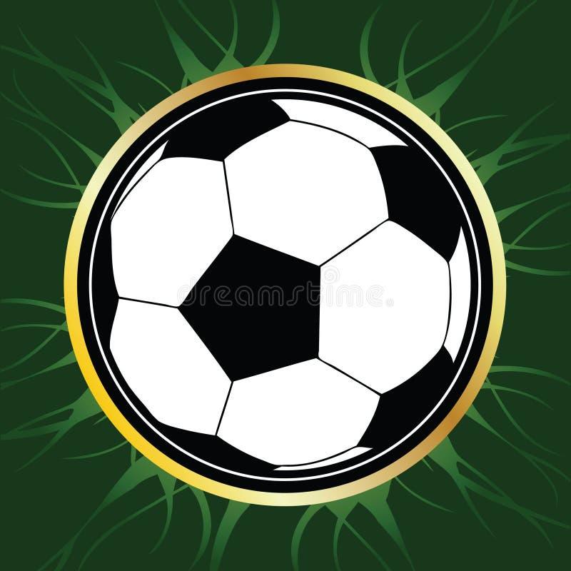 Fußball-Kugel lizenzfreie abbildung