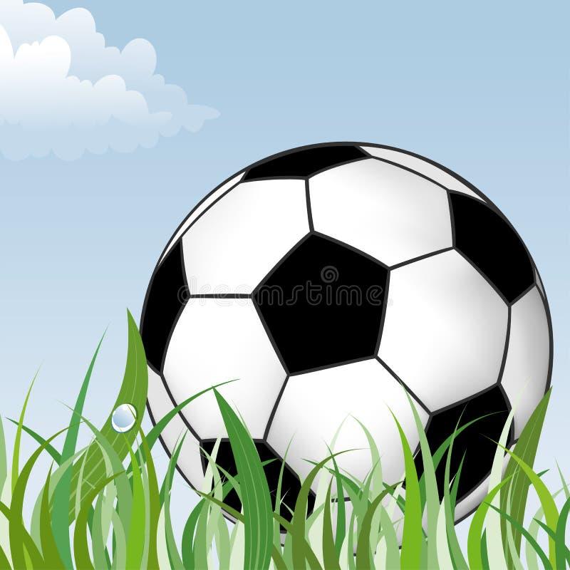 Fußball-Kugel stock abbildung