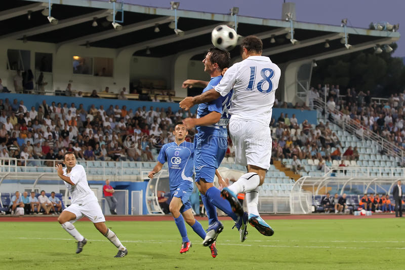 Fußball oder Fußball lizenzfreie stockfotografie