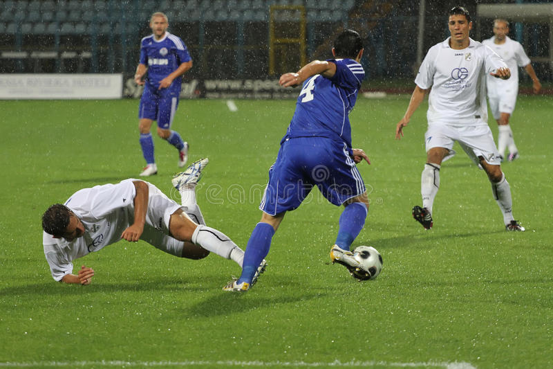 Fußball oder Fußball lizenzfreie stockbilder