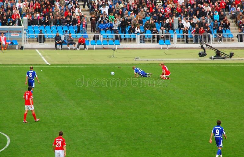 Fußball ordnet Verletzung an
