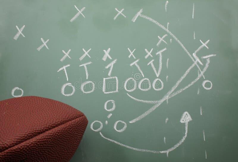Fußball-Schleifediagramm und -fußball stockbilder