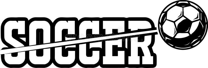 Fußball-Sport-Ausrüstungs-Team Game Field Shoe Outfit-Ball befestigt Ziel-Ergebnis-Netz-Spieler-Meisterschafts-Liga-Highschool Co lizenzfreie abbildung