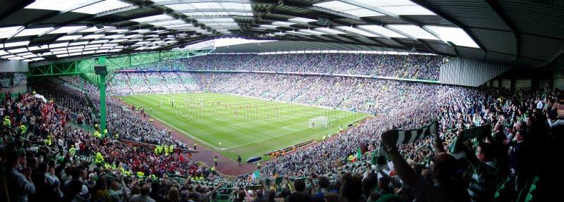 Fußball-Stadion stockbild