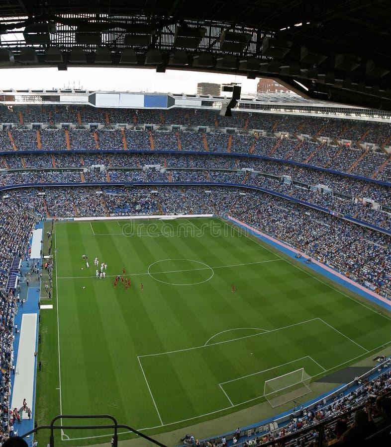 Fußball-Stadion lizenzfreie stockbilder