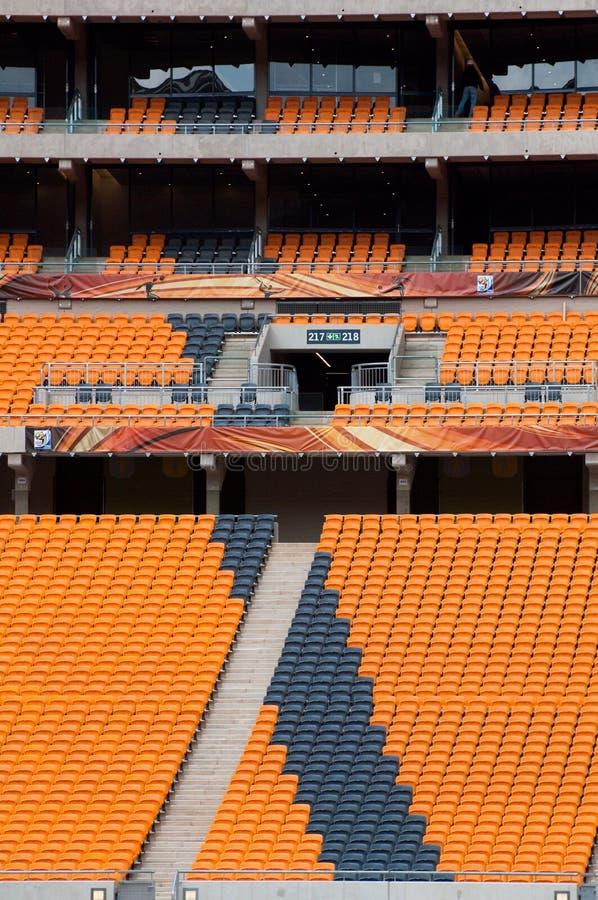 Fußball-Stadt, Johannesburg stockfotos