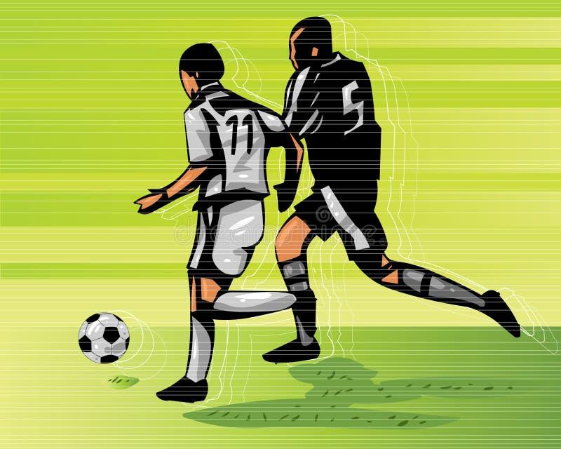 Fußball-Tätigkeit vektor abbildung