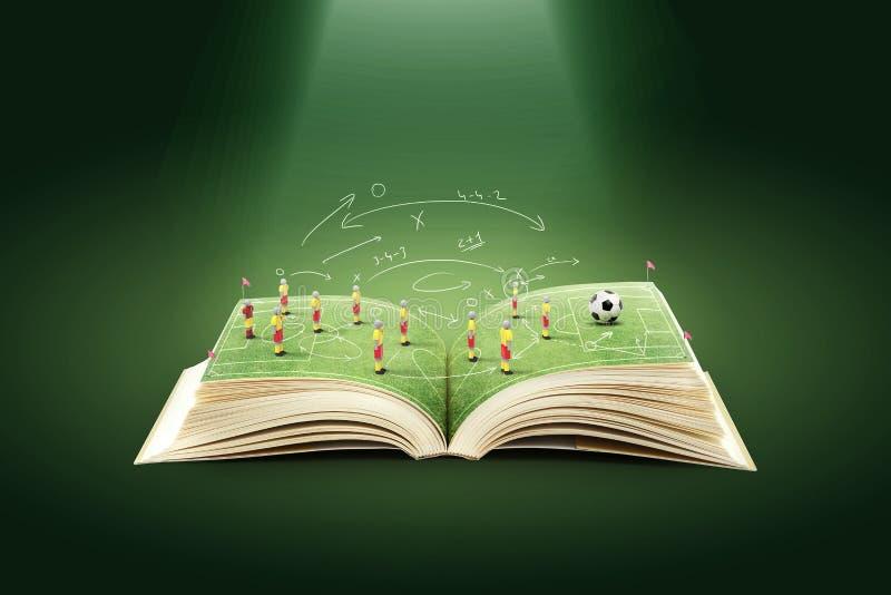 Fußball-Taktiken stockfotos