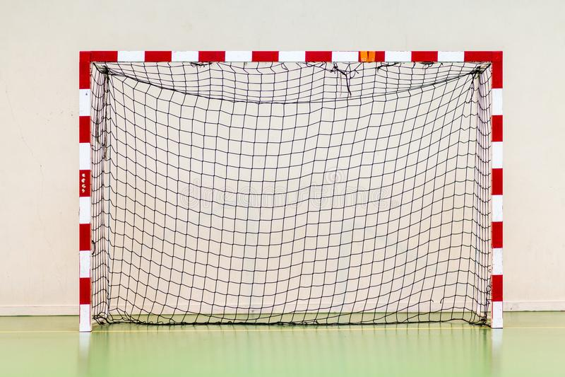 Fußball-Ziel-Fußball-Ziel-Handball-Ziel lizenzfreie stockfotografie