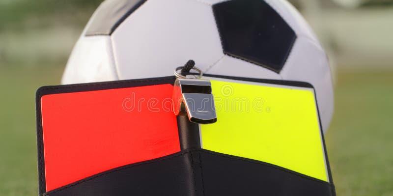 Fußballfußball ordnet Regelungskonzeptbild an lizenzfreies stockbild