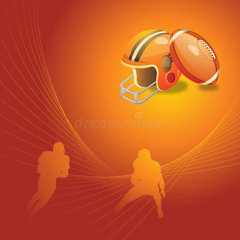 Fußballhintergrund lizenzfreie abbildung