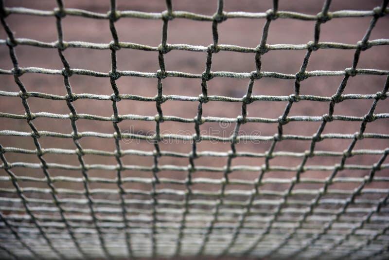 Download Fußballnetz stockbild. Bild von hintergrund, ineinandergreifen - 12200745