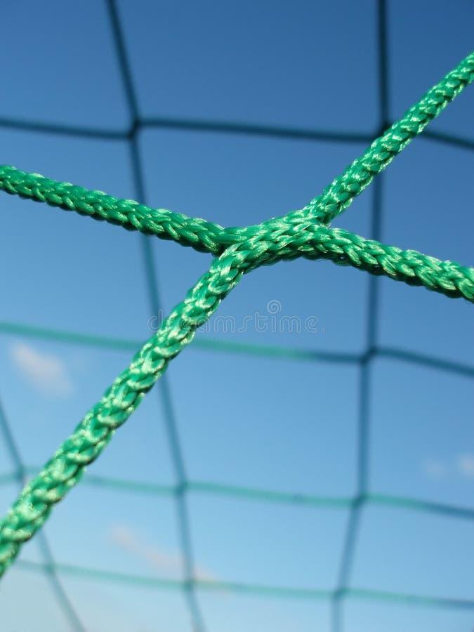 Fußballnetz stockbilder
