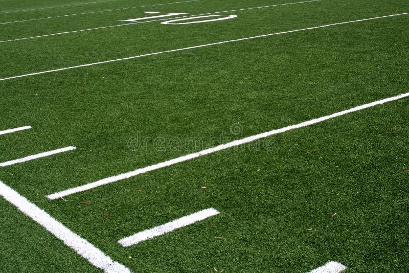 Fußballplatz lizenzfreie stockbilder