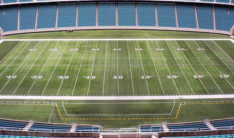 Fußballplatz lizenzfreies stockbild