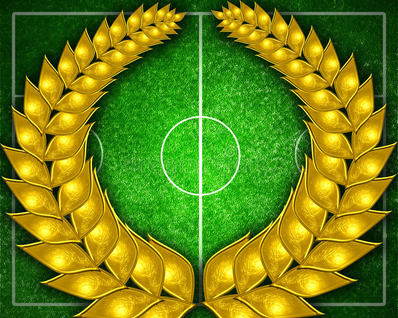 Fußballplatz vektor abbildung