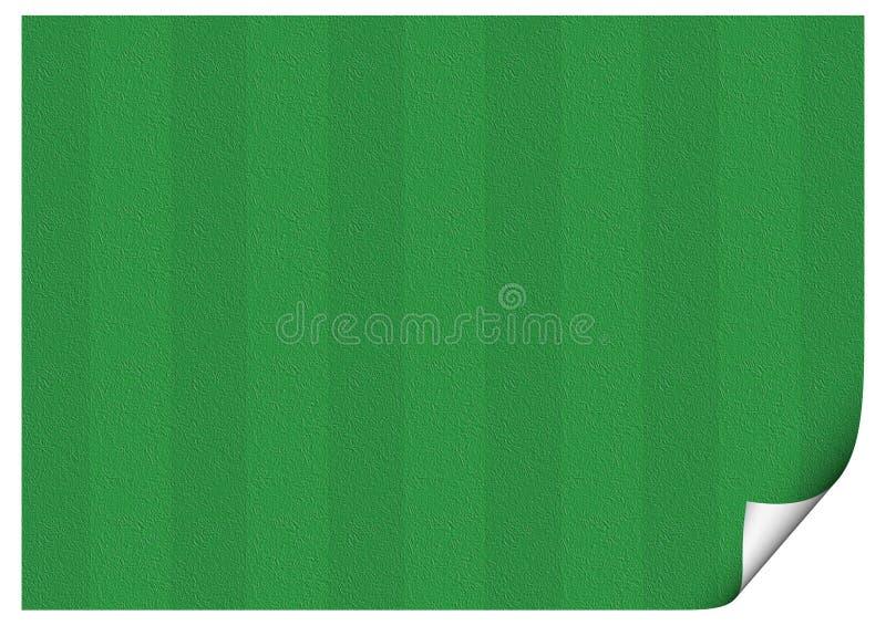 Fußballplatz-Papier lizenzfreies stockbild
