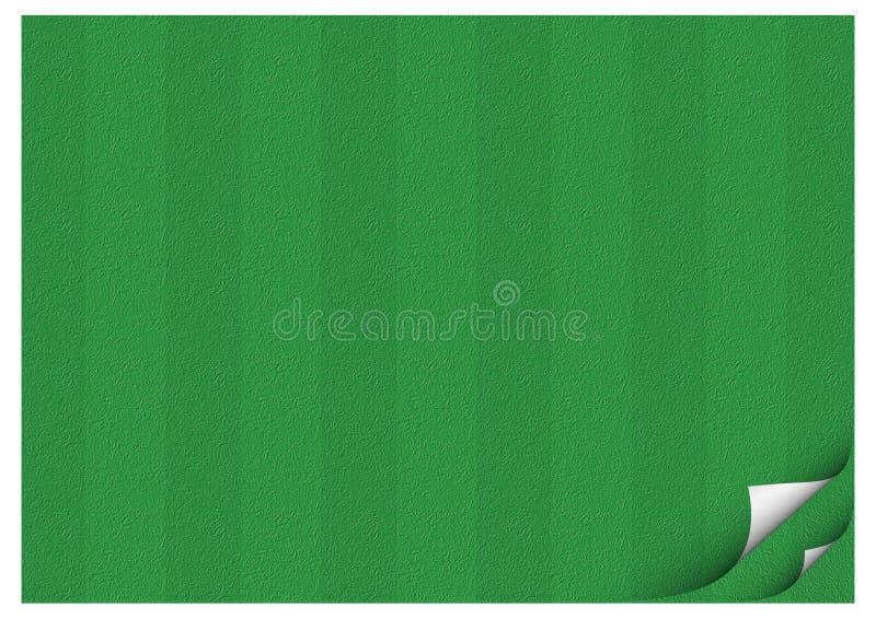 Fußballplatz-Papier vektor abbildung