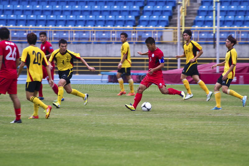 Download Fußballspiel redaktionelles foto. Bild von schwarzes - 27732506