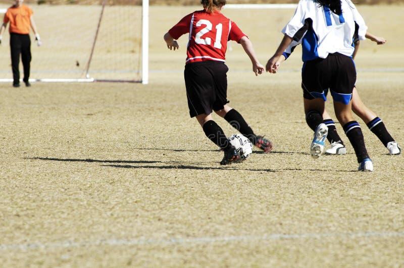 Fußballtätigkeit 8. lizenzfreie stockbilder