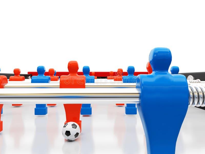 Fußballteam vektor abbildung