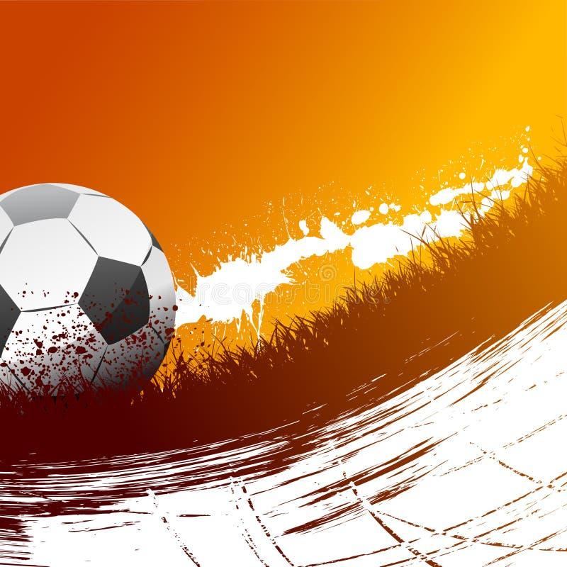 Fußballvektor stock abbildung