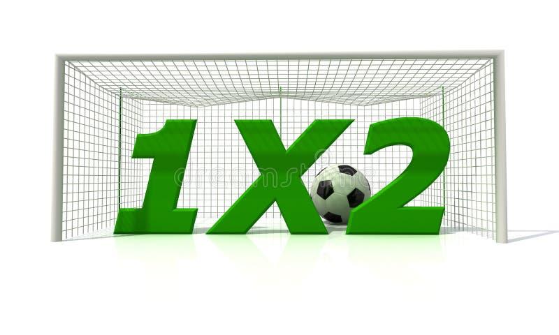 Fußballwetten lizenzfreie abbildung