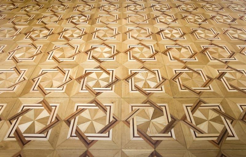Fußboden-hölzernes Muster stockbilder