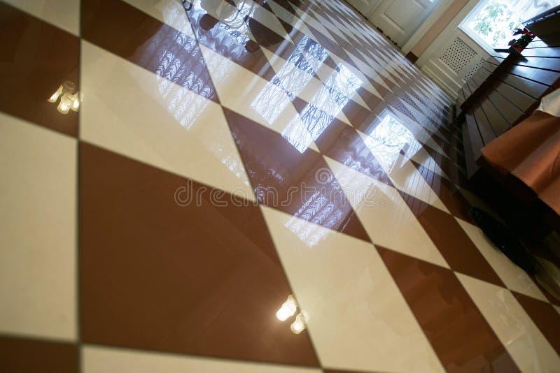 Fußbodenfliesen lizenzfreie stockfotos