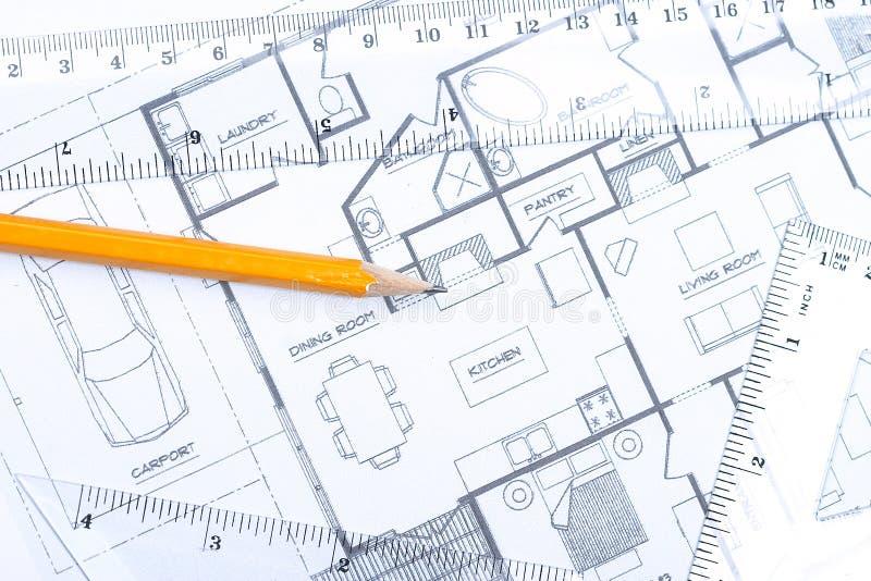 Fußbodenplan [horizontal] stockfoto
