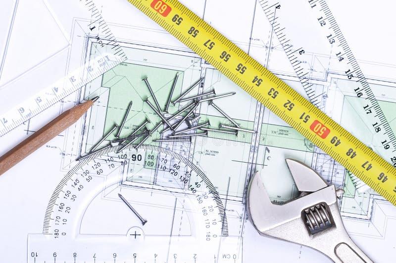 Fußbodenplan von oben lizenzfreie stockfotografie