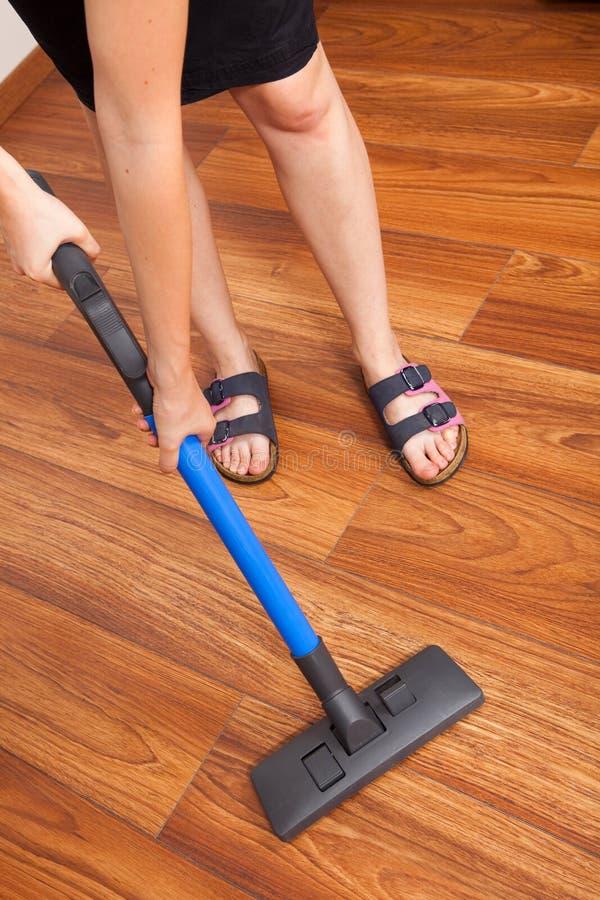 Fußbodenreinigung stockfotos