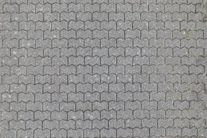 Fußgängergehweg im Detail stockfoto