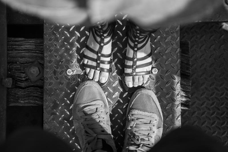 Fußliebe lizenzfreie stockfotografie