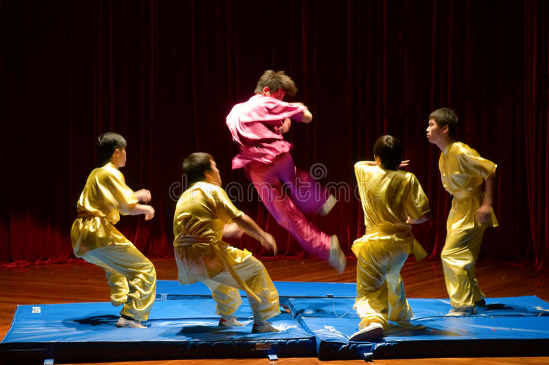 Fu chinês do kung imagens de stock royalty free