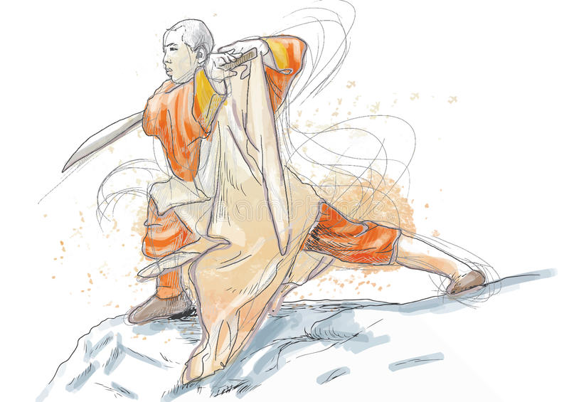 Fu De Kung Imagen de archivo libre de regalías