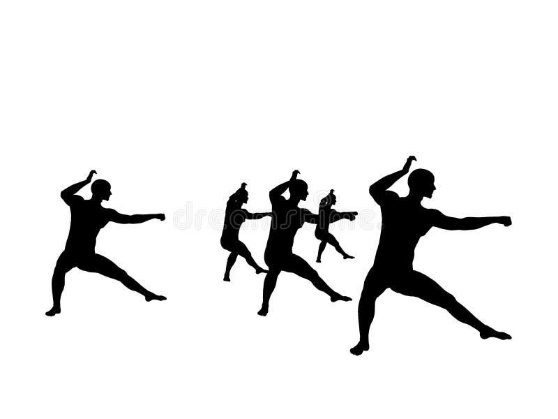 fu kung实践 库存例证